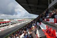 View from the grandstands at Moscow Raceway.