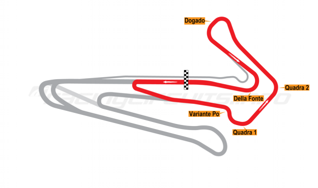 Map of Adria, 'Revolver' Circuit 2012 to date
