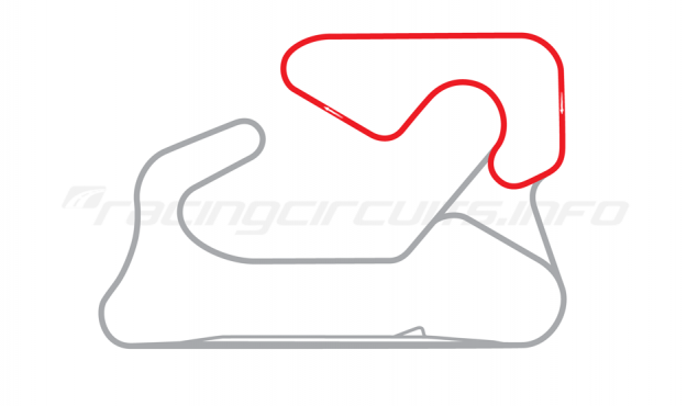 Map of Albacete, Tertiary circuit 1990-2014