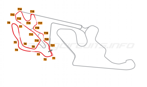 Map of Almería, Andalucia  Circuit No 2 2018 to date