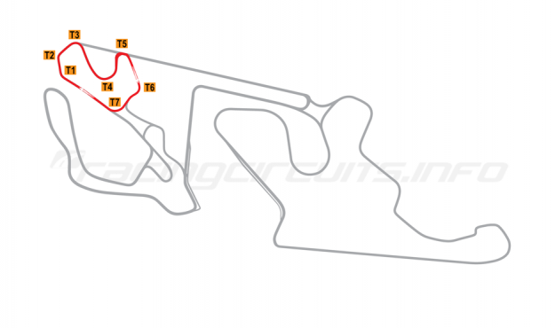 Map of Almería, Andalucia  Circuit No 4 2018 to date