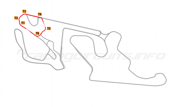 Map of Almería, Andalucia  Circuit No 4 (Alternate) 2018 to date