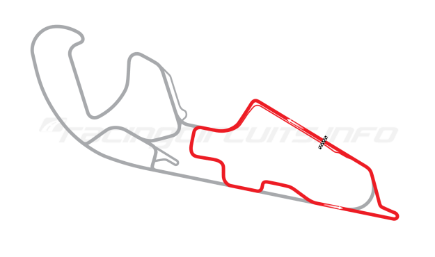 Map of Motorland Aragón, National Circuit 2009 to date