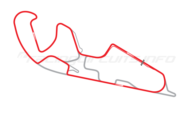 Map of Motorland Aragón, Motorcycle Grand Prix Circuit 2009 to date