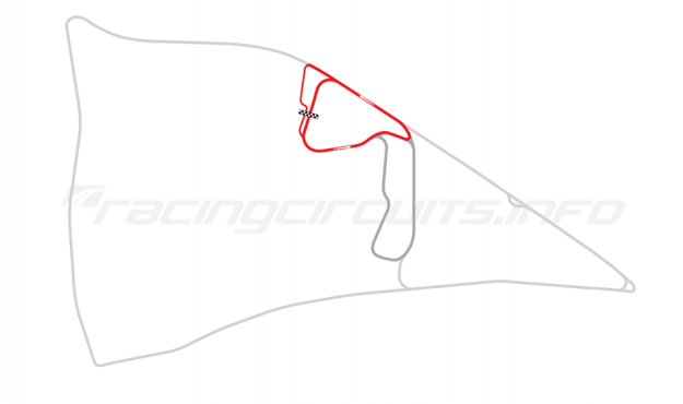 Map of Auto24Ring, Grand Prix course 2001-2011