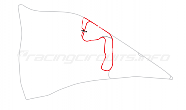 Map of Auto24Ring, Long course 2001-2011