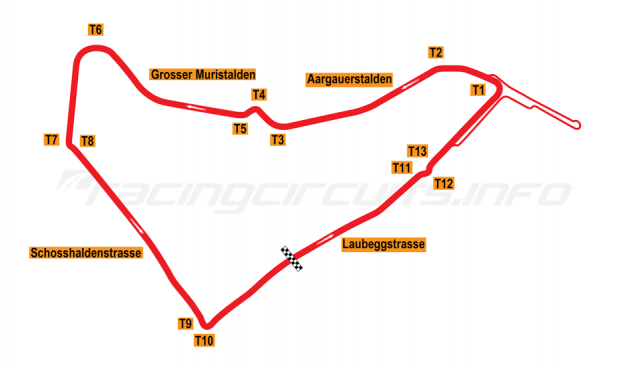 Map of Bern, Proposed ePrix Circuit (not developed) 2019 to date