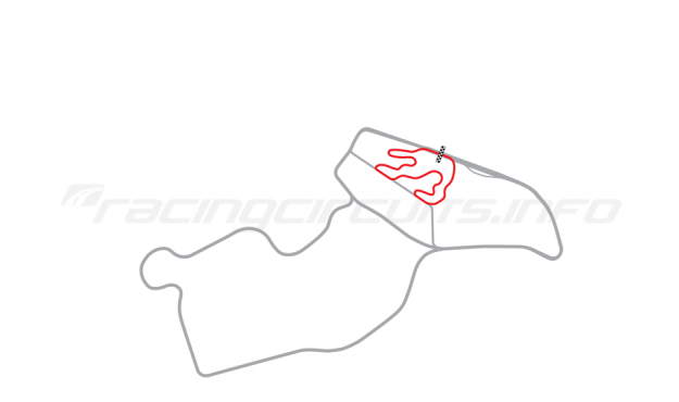 Map of Biķernieki, Kart Circuit (Kartodroms) 1966-67