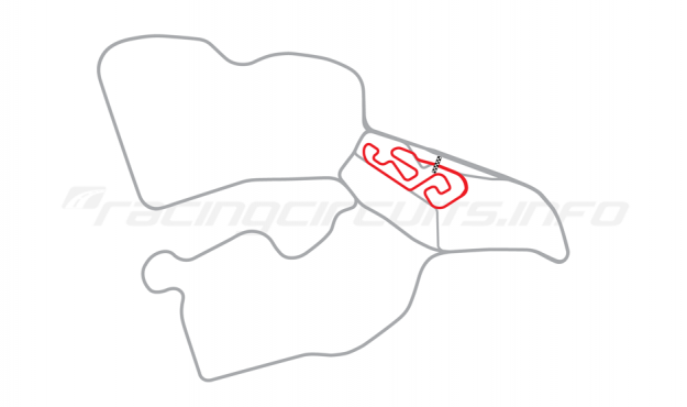 Map of Biķernieki, Kart Circuit (Kartodroms) 1987 to date