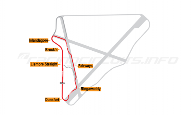 Map of Bishopscourt, Intermediate Circuit 2002-10
