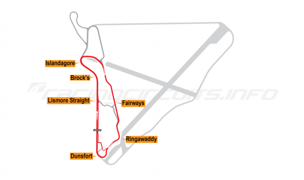 Map of Bishopscourt, Intermediate Circuit 2011 to date