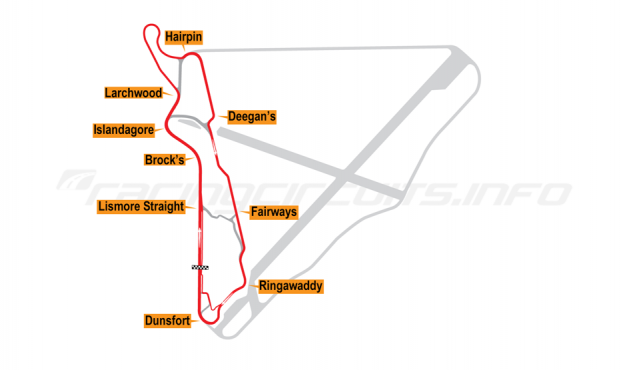Map of Bishopscourt, 2011 to date
