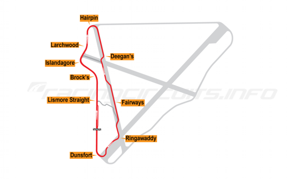 Map of Bishopscourt, National Circuit 2002-10