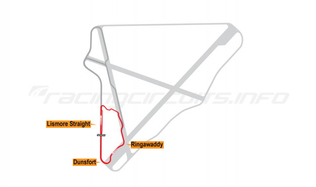 Map of Bishopscourt, Short Circuit 2002-10