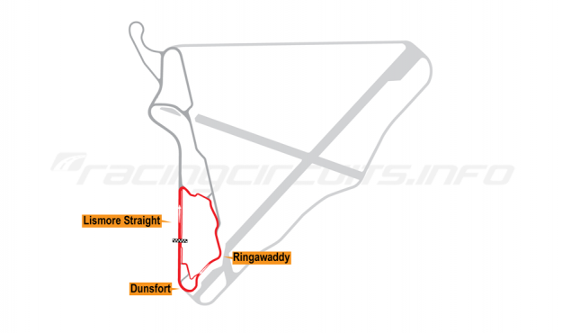 Map of Bishopscourt, Short Circuit 2011 to date