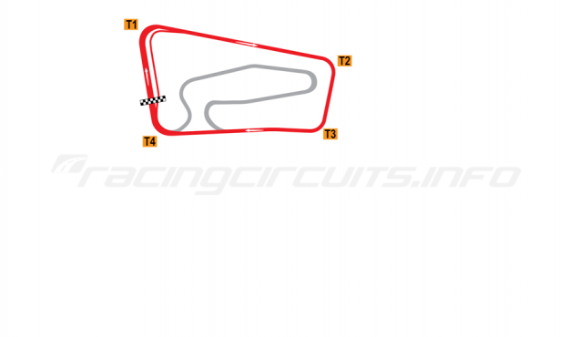 Map of Botniaring, Oval circuit 1989-2012