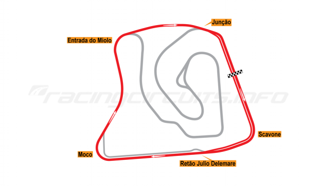 Map of Brasília, Stock Car circuit (not constructed) 2015 Proposals