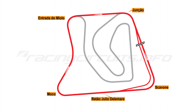 Map of Brasília, Exterior Circuit 1974-2014