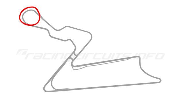 Map of Buddh International Circuit, Short Course 3 2011 to date