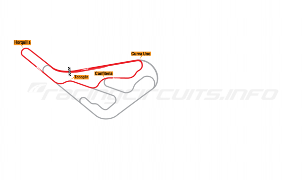 Map of Buenos Aires, Circuit No. 10 1952-67