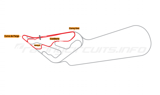 Map of Buenos Aires, Circuit No. 5-S 1995-98