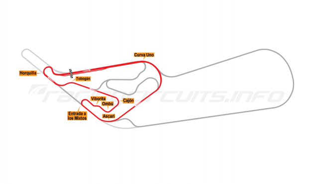 Map of Buenos Aires, Circuit No. 9 1972-78