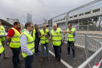 Charlie Whiting Inspects Baku City Circuit