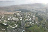 Aerial impression of the Circuit of Wales