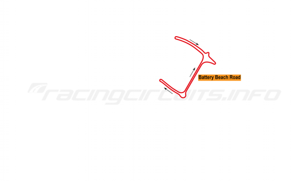 Map of Durban, Time Attack circuit 2014
