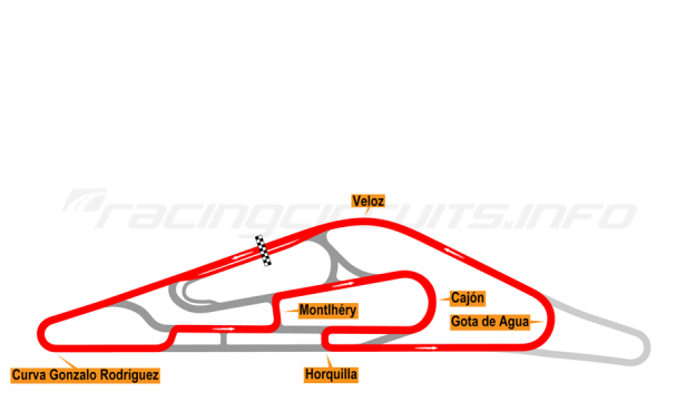 Map of El Pinar, Circuit No. 7 (anti-clockwise) 2009-2013