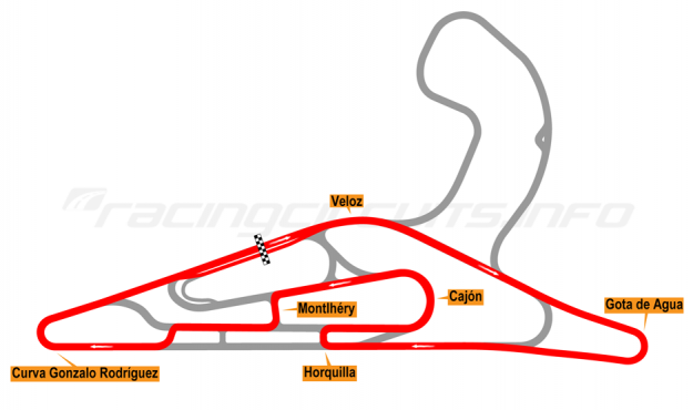 Map of El Pinar, Circuit No. 7 2017 to date