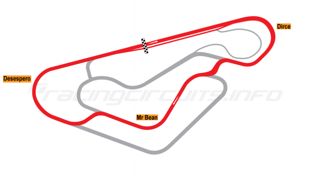 Map of Fortaleza, Truck circuit 2006-12