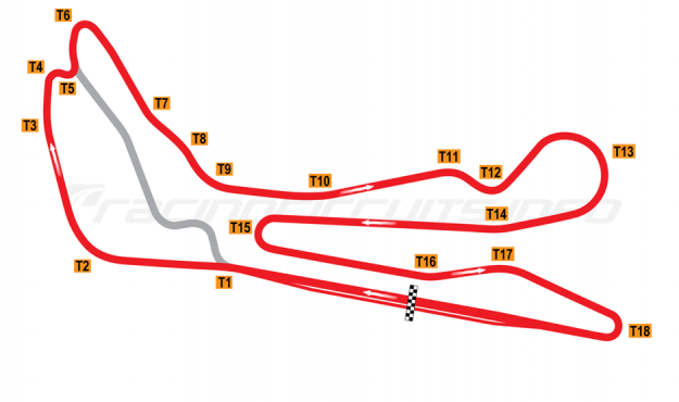 Map of Guadix, Alternative circuit 2004-2007