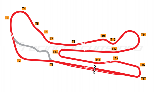 Map of Guadix, Alternative circuit 2011 to date