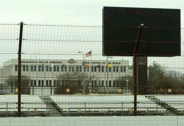 A new HD screen installed at Indianapolis Motor Speedway