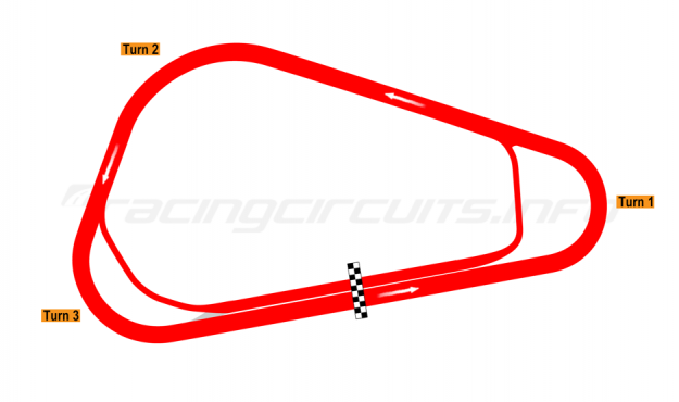 Map of Cajititlán, Tri-oval 2008-10