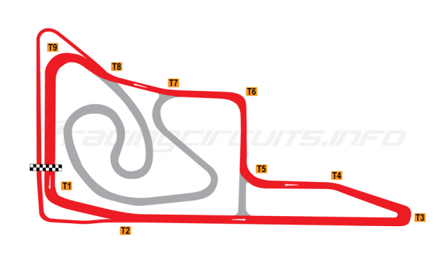 Map of Jiangsu Wantrack International, Intermediate circuit 2014 to date