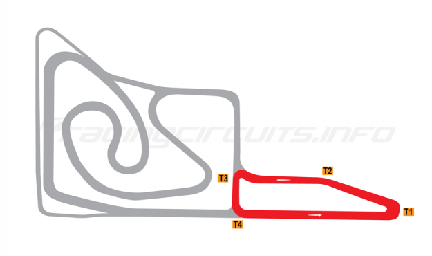 Map of Jiangsu Wantrack International, School circuit 2014 to date