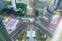An artist's impression Turn One at the KL City Grand Prix