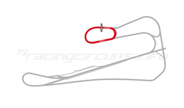 Map of Killarney, Oval circuit 2008 to date