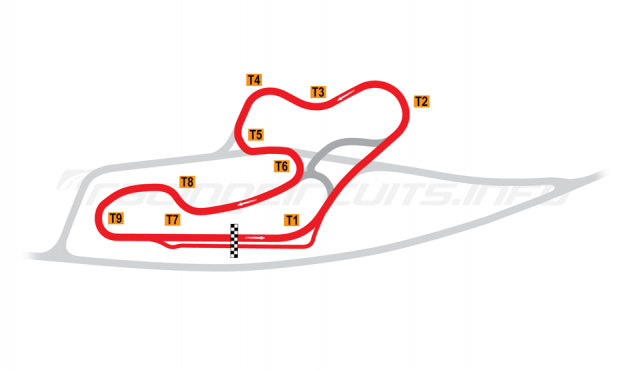 Map of La Châtre, School Circuit 1996-2000