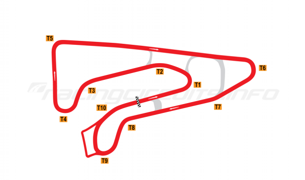 Map of Athens Circuit, 1998 to date