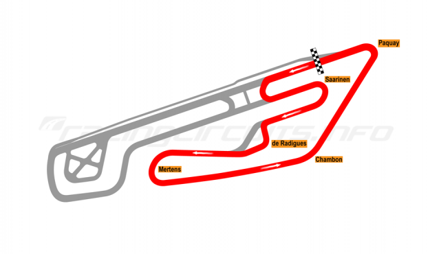 Map of Mettet, Circuit Jules Tacheny East (bikes) 2012 to date