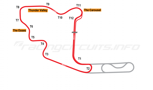 Map of Mid-Ohio, Short circuit 2006 to date