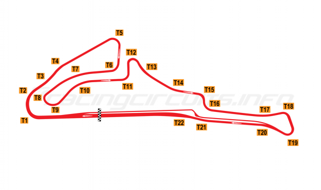 Map of Mine Circuit, 1991 to date