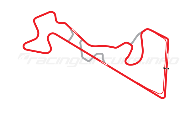 Map of Moscow Raceway, Grand Prix Circuit 1 2012 to date