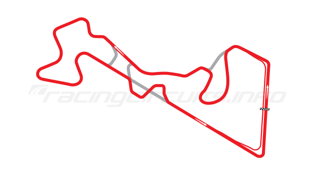 Map of Moscow Raceway, Grand Prix Circuit 2 2012 to date