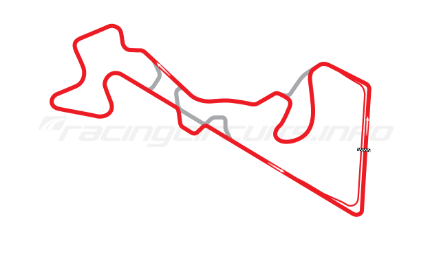 Map of Moscow Raceway, Grand Prix Circuit 3 2012 to date