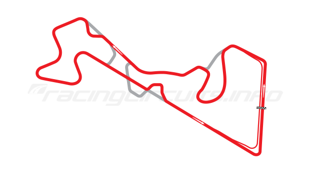 Map of Moscow Raceway, Grand Prix Circuit 4 2012 to date
