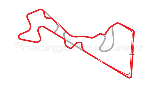Map of Moscow Raceway, Grand Prix Circuit 6 2012 to date
